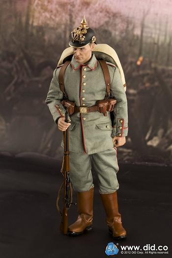 第一次世界大戦 1914-1915 ドイツ軍歩兵隊 マックス・ミューラー 12 ...