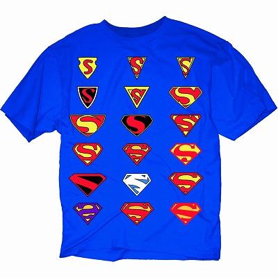 evolution of superman symbol blk t s sm aug131985 dc アメコミ