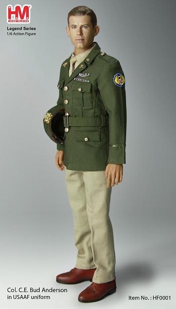 クラレンス バド アンダーソン大佐 アメリカ陸軍航空隊 トリプルエース ...