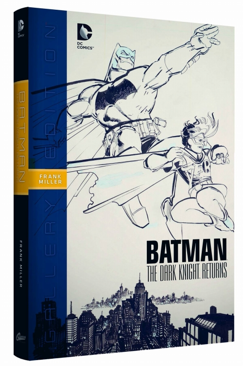 BATMAN DARK KNIGHT RETURNS GALLERY ED HC/ OCT150238