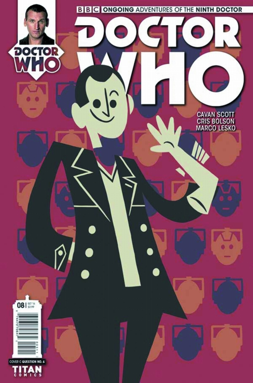 DOCTOR WHO 9TH #8 CVR C QUESTION 6/ AUG161889