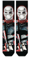 SUICIDE SQUAD DEADSHOT SUBLIMATED PREMIUM CREW SOCKS (O/A)/ SEP162527