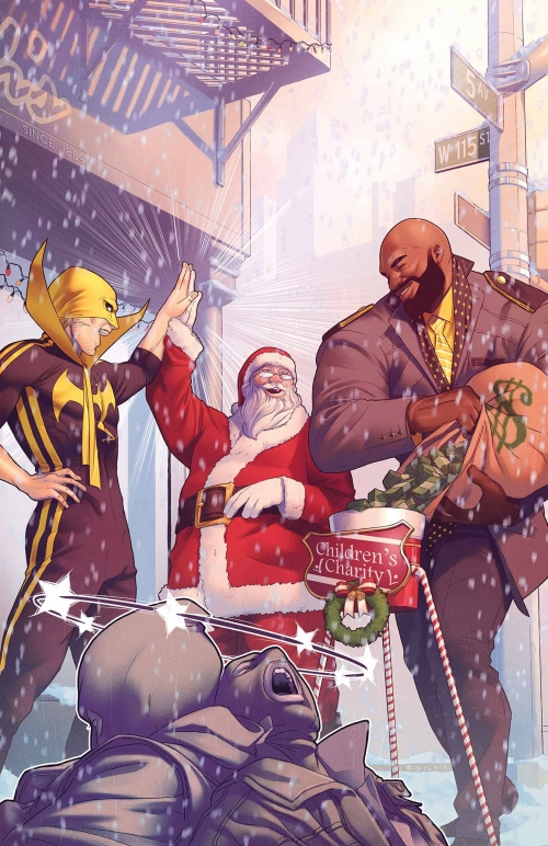 POWER MAN AND IRON FIST SWEET CHRISTMAS ANNUAL #1/ OCT160903