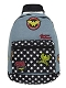 DC COMICS WONDER WOMAN DENIM BACKPACK W/ PATCHES / JUN173156