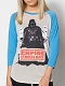 Star Wars Empire Strikes Back Raglan T/S MED