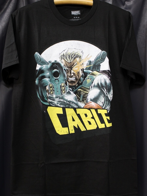 MARVEL CABLE AIM BLACK PX T/S XXL / FEB182160