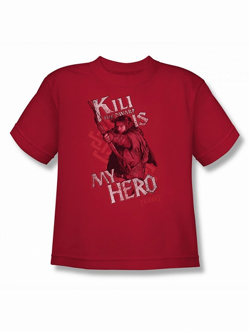 The Hobbit Kili is My Hero T-shirt SIZE L