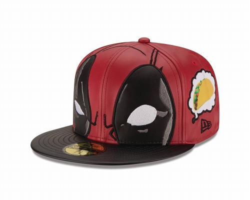 DEADPOOL THINKING ABOUT TACOS 5950 FITTED CAP 7 1/2 / MAR182409