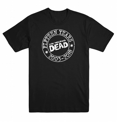 WALKING DEAD 15TH ANNV XL T/S / MAY180293