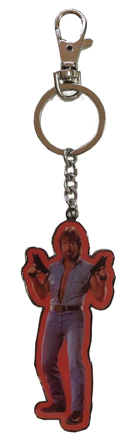 TOUGH GUY INVASION USA UZIS METAL KEYCHAIN / MAY182884