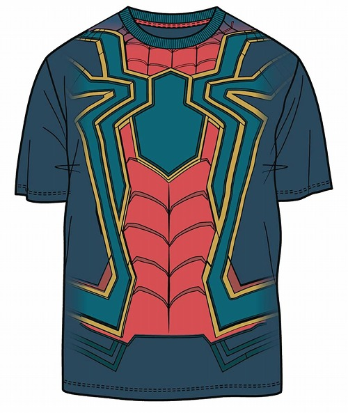 AVENGERS IW I AM IRON SPIDER PX NAVY T/S LG / MAY182987