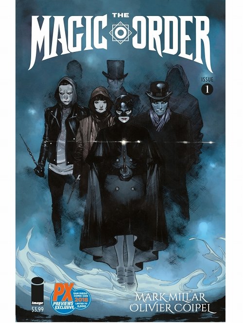 SDCC 2018 MAGIC ORDER #1 (OF 6)
