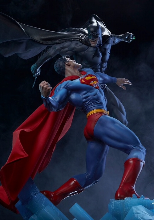 マン スーパー バットマン vs