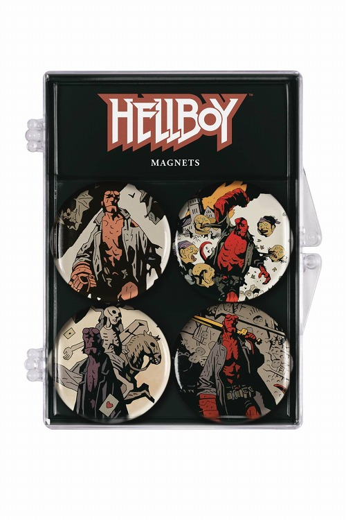 HELLBOY MAGNET 4-PACK / DEC180423