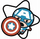 MARVEL KAWAII CAPTAIN AMERICA PIN / JAN193115