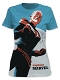 CAPTAIN MARVEL MICHAEL CHO PX FITTED T/S LG / MAR192394