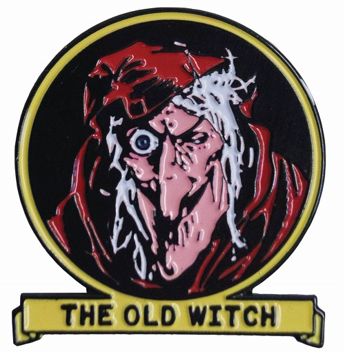 TALES FROM THE CRYPT OLD WITCH ENAMEL PIN / MAR193007
