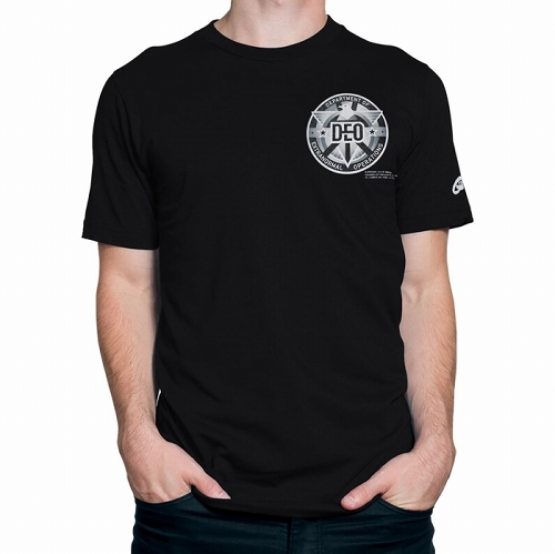 Supergirl DEO Staff Men's T-Shirt US SIZE S