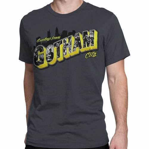 Batman Greetings from Gotham City Men's T-Shirt US SIZE M