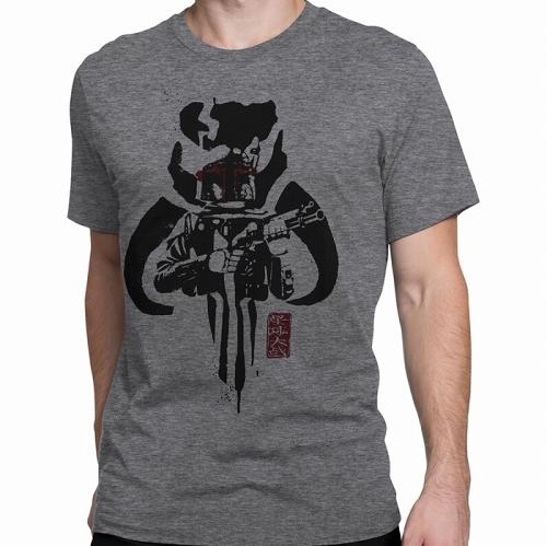 Star Wars Boba Fett Mandalorian Clan Men's T-Shirt US SIZE M