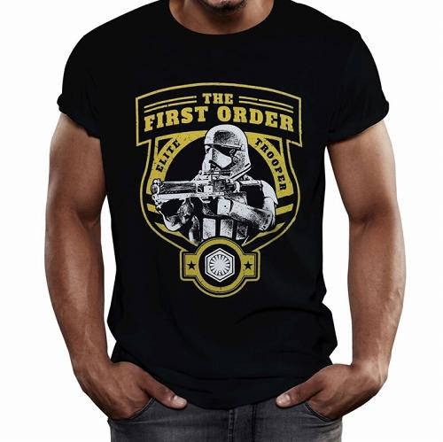 Star Wars Force Awakens First Order Elite T-Shirt US SIZE S