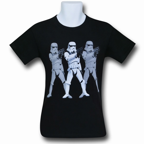 Star Wars Triple Trooper T-Shirt US SIZE S