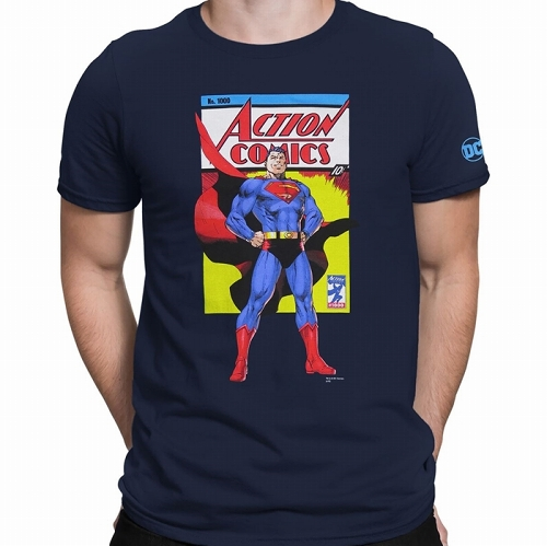 Superman Action Comics No. 1000 Men's T-Shirt US SIZE L