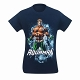 Aquaman Water Power Men's T-Shirt US SIZE L