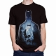 Batman Flight Over Gotham Men's T-Shirt US SIZE L