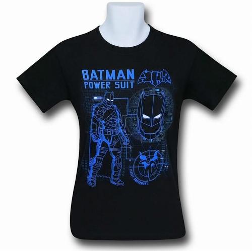 Batman Vs Superman Power Suit T-Shirt US SIZE S