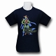 Martian Manhunter Retro Stand T-Shirt US SIZE L