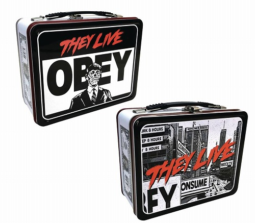THEY LIVE OBEY TIN TOTE/ MAY193192