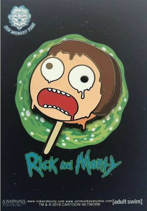 RICK AND MORTY MORTY POPSICLE PIN/ MAY193204