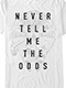 Star Wars Never Tell Me The Odds T-Shirt US SIZE M