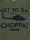 Get To Da Choppa Predator T-Shirt US SIZE M