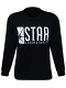 Flash Star Labs Black Long sleeve T-Shirt size L