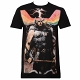 Thor Rainbow Sublimated Black T-Shirt size S