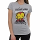 Iron Man Play My Song T-Shirt ladies size M