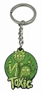 RICK AND MORTY TOXIC ENAMEL KEYCHAIN / DEC192900