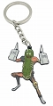 RICK AND MORTY PICKLE RICK W/RAT LIMBS ENAMEL KEYCHAIN / DEC192901