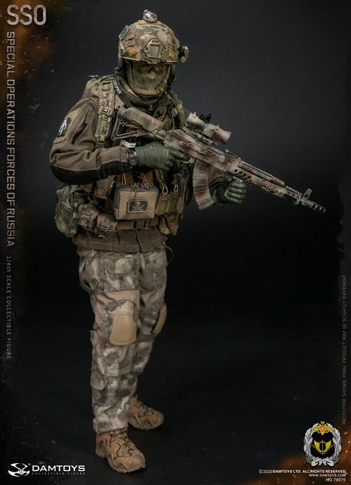 SSO ロシア特殊作戦軍 1/6 アクションフィギュア 78075 - 映画 ...