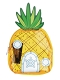 SPONGEBOB CLEAR PVC PINEAPPLE COIN PURSE / APR203090