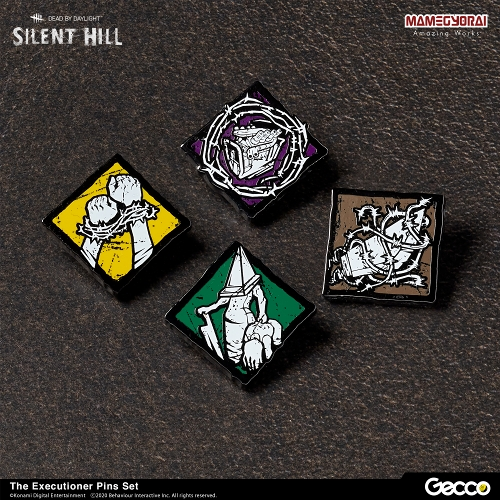 Gecco pins/ SILENT HILL x Dead by Daylight ピンズコレクション エクセキューショナー セット