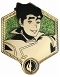 LEGEND OF KORRA GOLDEN BOLIN PIN / JAN212526
