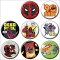 DEADPOOL 30TH ANNIVERSARY 144PC BUTTON ASST DIS / JAN212559