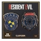PIN KINGS RESIDENT EVIL RACCOON POLICE PIN SET  / JAN212580