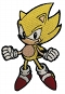 SONIC THE HEDGEHOG SUPER SONIC PATCH / JAN212588
