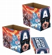 MARVEL CAPTAIN AMERICA PATRIOT 5PK SHORT COMIC STORAGE BOX / JAN202991 - イメージ画像2